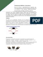 Elementos Básicos de Electrónica Analogica