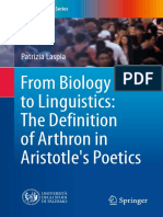 Biology, linguistics, Aristotle