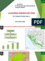 Economía Agraria Perú