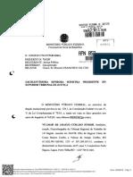 Denuncia MPF X Luis Felipe Belmonte