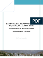 Designación de Cargos en el Pueblo de Sarhua