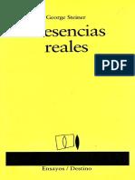 George Steiner- Presencias Reales.pdf