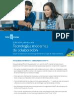 Guía de Planificación. Tecnologías Modernas de Colaboración