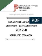 Guia Examen Ordinario Ex 2012 II