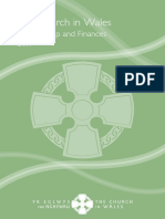 Church in Wales 2017 Memberships and Finances