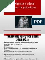 Esquizofrenia y Otros Trastorno de Psicóticos