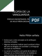 6b8644_integrador 1. Teoría de La Vanguardia. Resumen