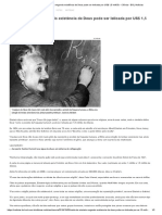 Carta de Einstein negando existência de Deus pode ser leiloada por US$ 1,5 milhão - Ciência - BOL Notícias
