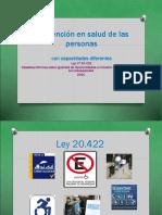 La Atención en Salud de Las Personas Con Capacidades Diferentes 2014 Ultima Version Septiembre 2014