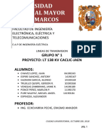 DISEÑO DE LINEA DE TRANSMISION JAEN-CACLIC PERU