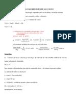 EJERCICIOS SOLUCIONES
