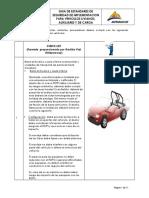 Guia de Estandares de Seguridad de Implementacion Para Vehiculos Liviano...