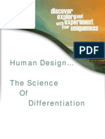 Human Design the Science of Differentiation