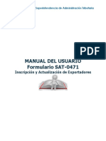 Manual del Usuario SAT