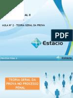 DPP II - Aula 02 - Teoria Geral Das Provas
