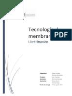 Informe Ultrafiltracion Canales Monsalves