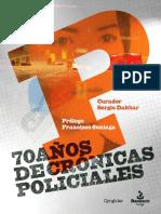 70 Años de Cronicas Policiales