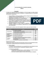 Sistema de Evaluacion e Incentivos Docente 2018-2