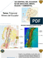 Potencial Minero Ecuador