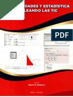 Libros de Probabilidades, Estadística y de Los Poliprismas, Edición Octubre 2018