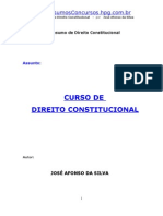 Resumo de José Afonso da Silva