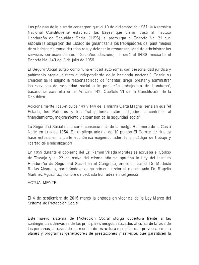 Foros Sobre Seguridad Social En Honduras