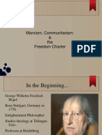 Marxism and the Freedom Charter