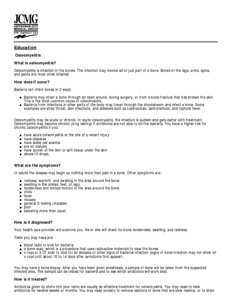 Osteomyelitis-1 pdf   Infection   Public Health