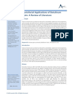 Craniofacial Applications of Botulinum Toxin