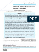 Validation Technology in the Pharmaceutical Industry - A Review