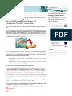 Cara Install Windows Dari File ISO Atau CD Menggunakan Flashdisk Tanpa Software - Improve Your Knowledge