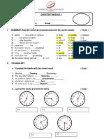 Quicktest 02- Simple Present