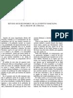 1970-Romero - Estudio Socio Economico de La Juventud Masculina de La Region de Cholula