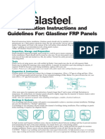 FRP Panels Installation Guide