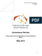 Equestrian Governance Review_May 2015
