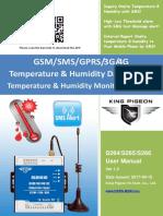 S264~S266 3G 4G Temperature Data Logger V1.0