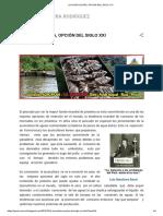 La Acuicultura, Opción Del Siglo XXI
