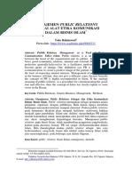 4-Manajemen Public Relations Sebagai Alat Etika Komunikasi(1)