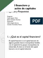 Capital Financiero y Exportación de Capitales (Preguntas y Respuestas)