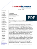 Border fence Texas - Response to David Pagan 100708