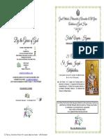 2018 - 23oct - Vespers-st James Joseph 'Adelphotheos' Apostle