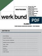teori sejarah arsitektur deutscher werkbund
