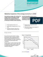 Statistical Aspects of the EU Energy Economy in 2009