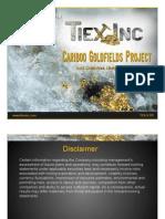 Tiex Inc. PPT Goldcreek_4x3screen Sept 24 - 2010[1]