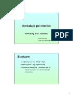 Ambalaje polimerica curs