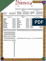 Changeling1-Page Chimerav2 Editable