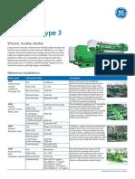 Jenbacher Type 3 Engine Sheet en Metric (J320)