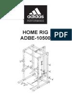 Adidas Home Rig - Instrucciones