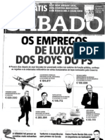 Empregos de Luxo Dos Boys Do PS