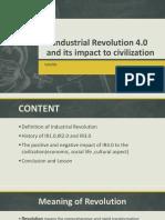 Industrial Revolution 4